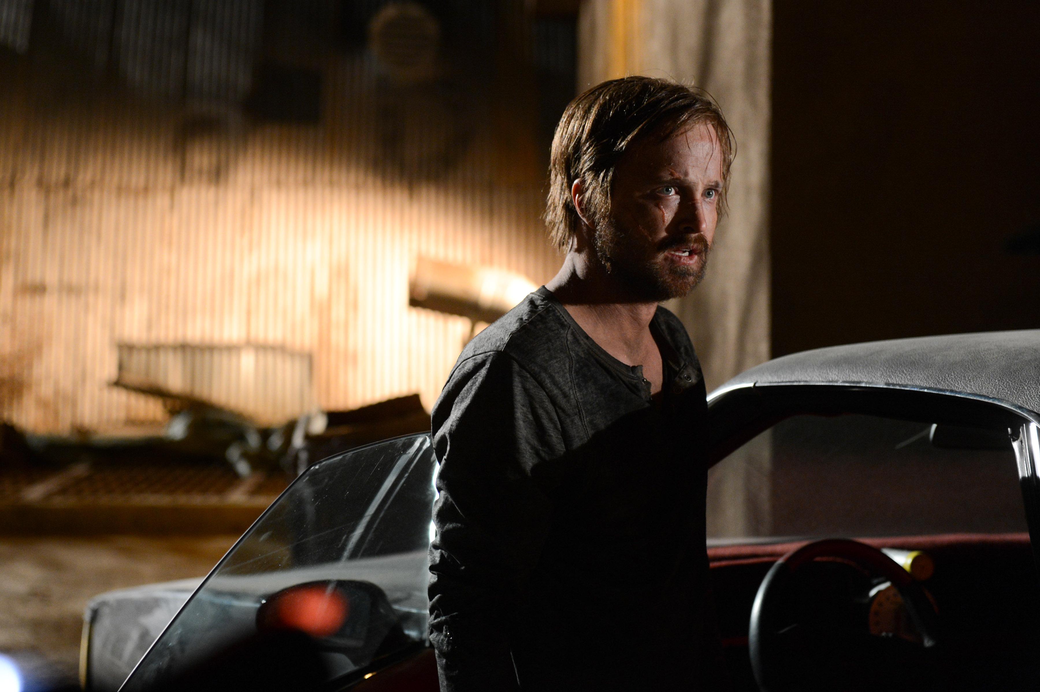 Aaron Paul as Jesse Pinkman in Breaking Bad Season 5, Episode 16