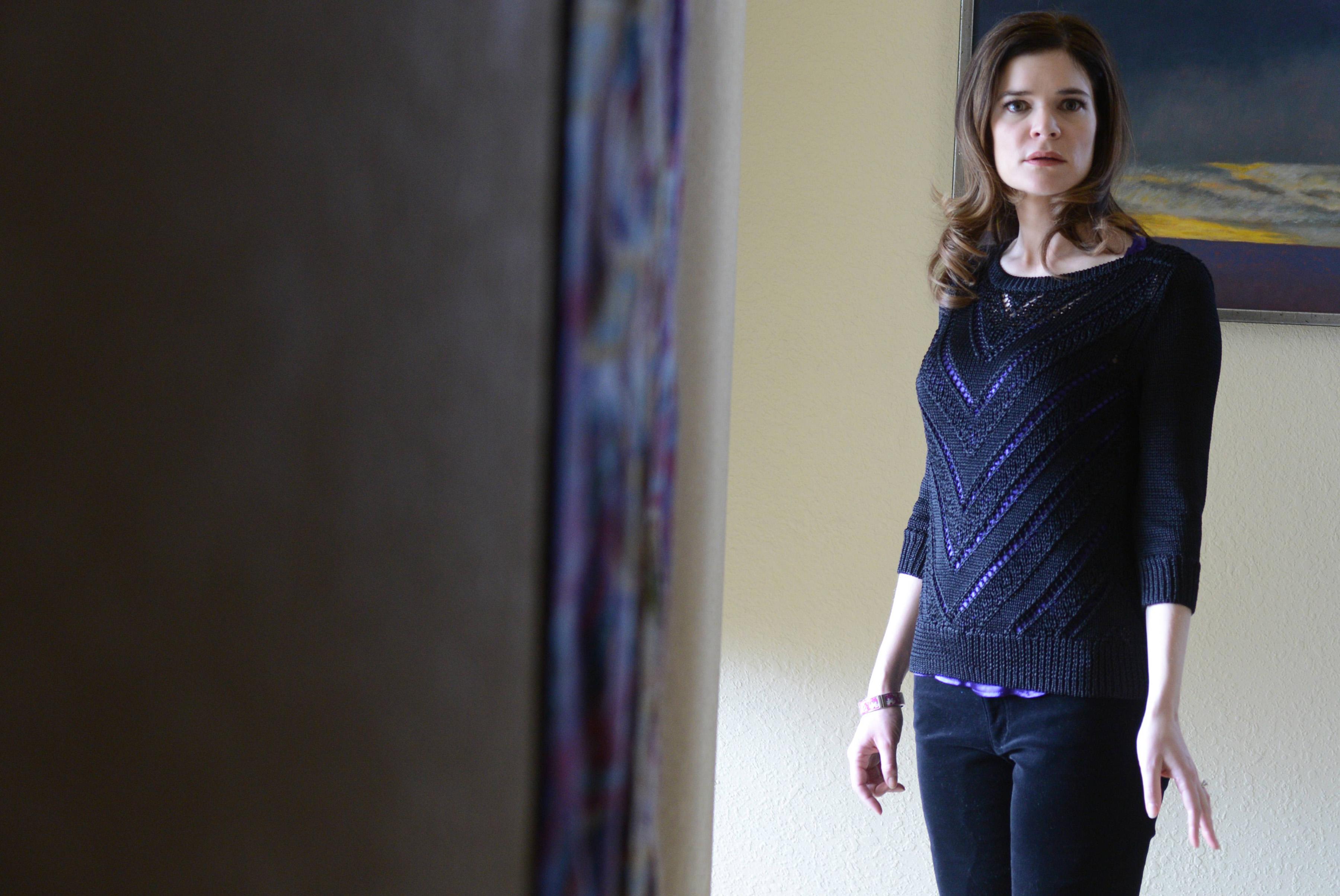 Betsy Brandt as Marie Schrader in Breaking Bad Season 5, Episode 12