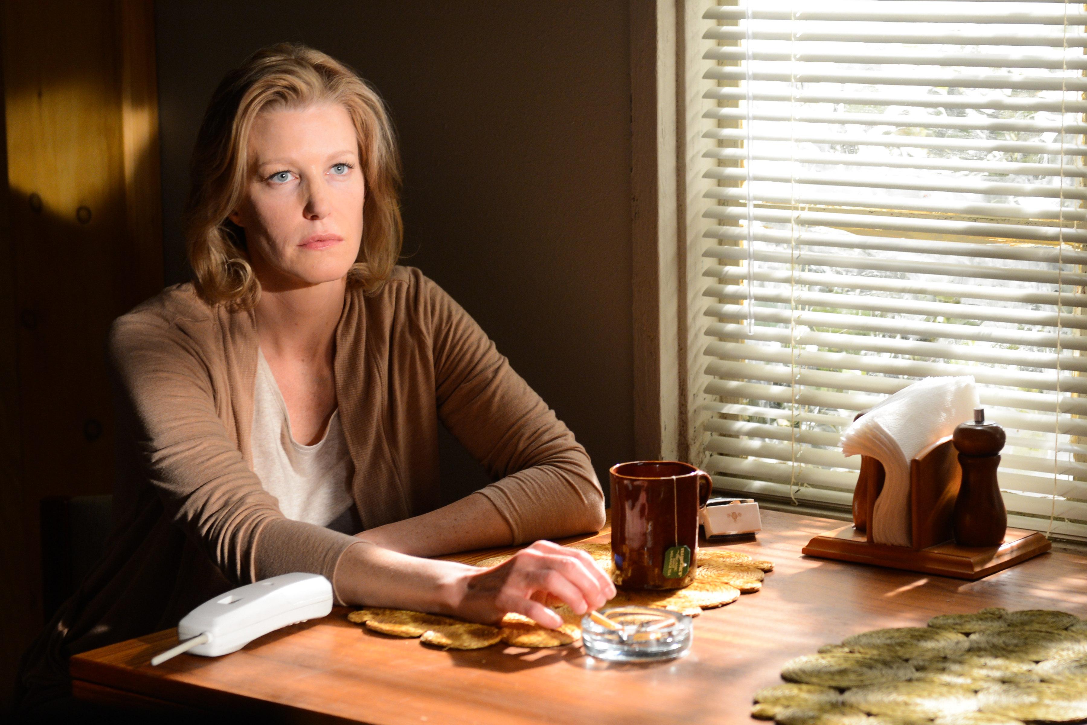 Anna Gunn as Skyler White in Breaking Bad Season 5, Episode 16
