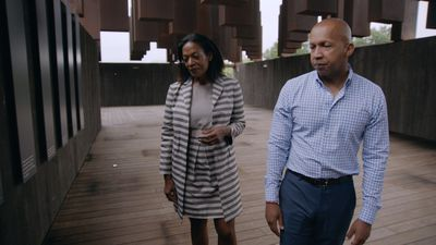 Patricia Viseur Sellers discusses the legacy of lynching with Equal Justice Initiative founder Bryan Stevenson in 'Why We Hate'