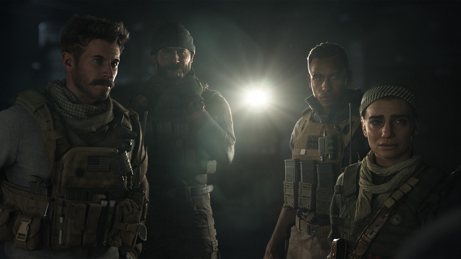 A scene from Call of Duty: Modern Warfare.