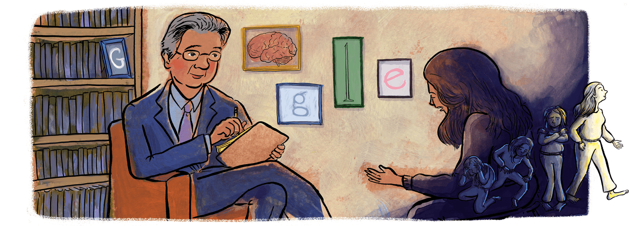 Google Doodle celebrates the 23rd anniversary of Dr. Kleber's election to the National Academy of Medicine.