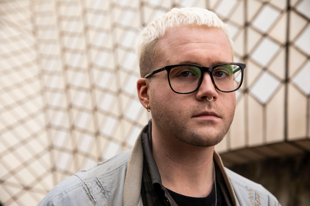 Christoper Wylie, a Canadian data scientist and Cambridge Analytica whistleblower, on Aug. 31, 2019.