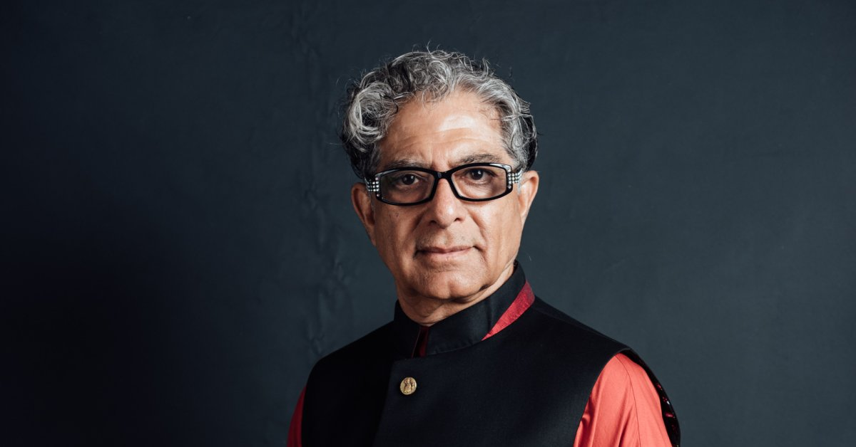 Deepak Chopra Wants You to Have a More Meaningful Life