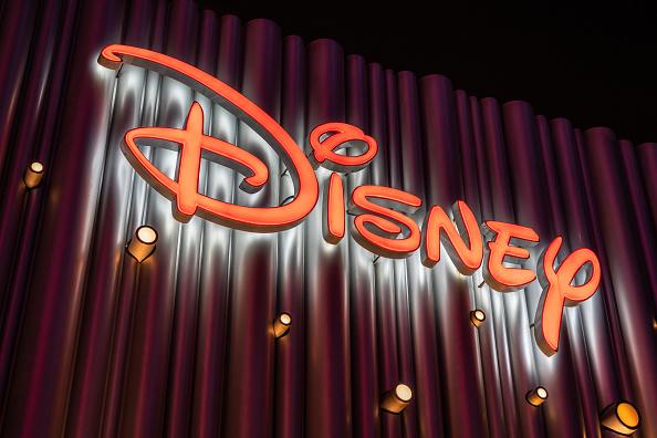 The Walt Disney Company logo seen in Shanghai