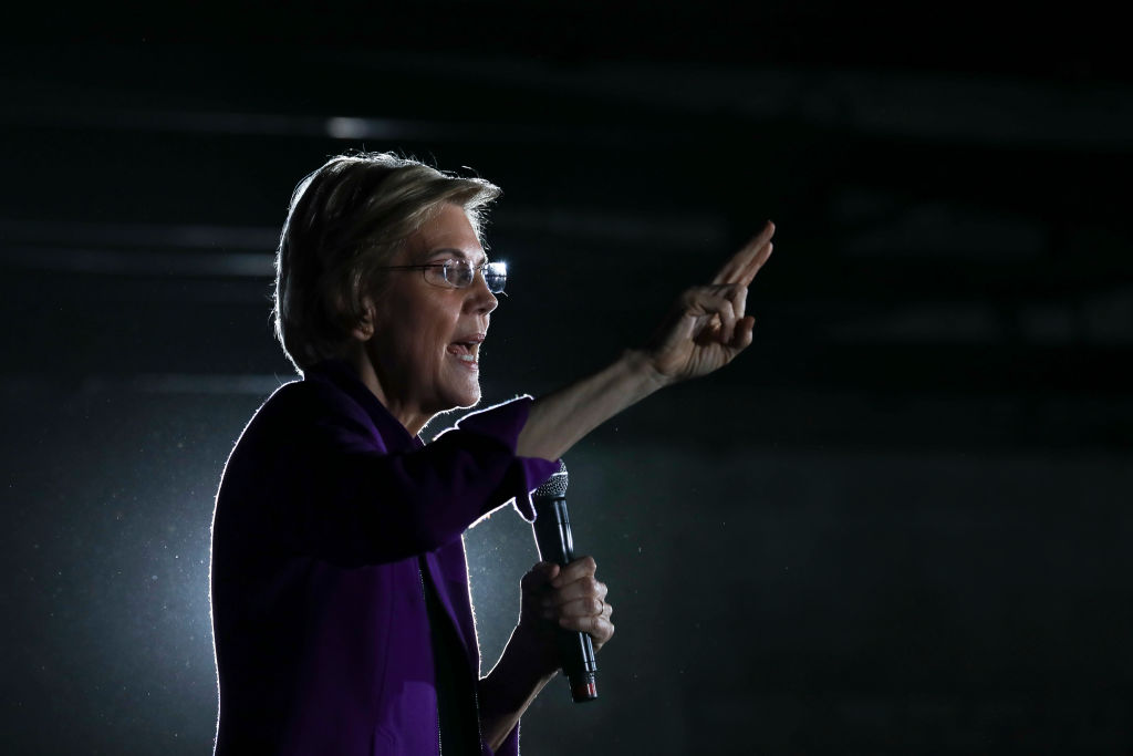 Sen. Elizabeth Warren one of several Democrats running for the party's nomination in the 2020 presidential race, speaks during a campaign event, March 8, 2019 in the Queens borough of New York City.