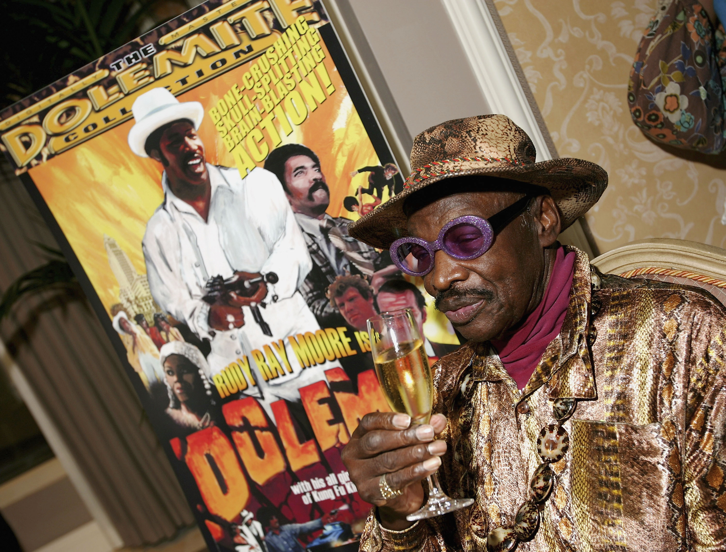 Rudy Ray Moore in 2005.