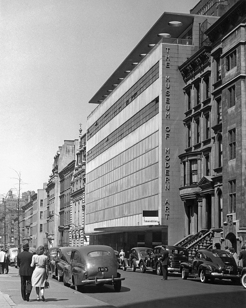 The Museum of Modern Art building designed by Philip L. Goodwin and Edward Durrell Stone opens at 11 West 53 Street location in 1939.