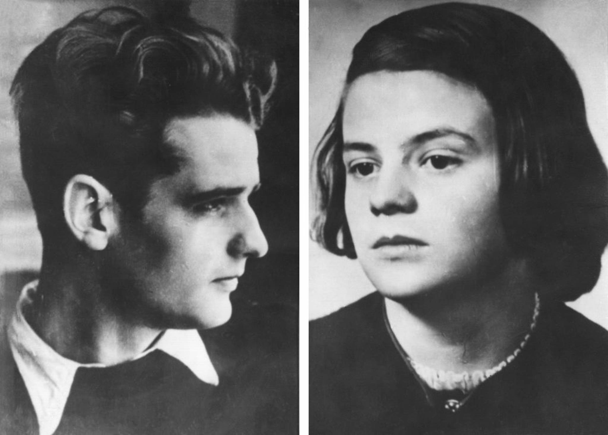 Hans and Sophie Scholl famously turned against their Hitler Youth roots by distributing anti-Nazi pamphlets.