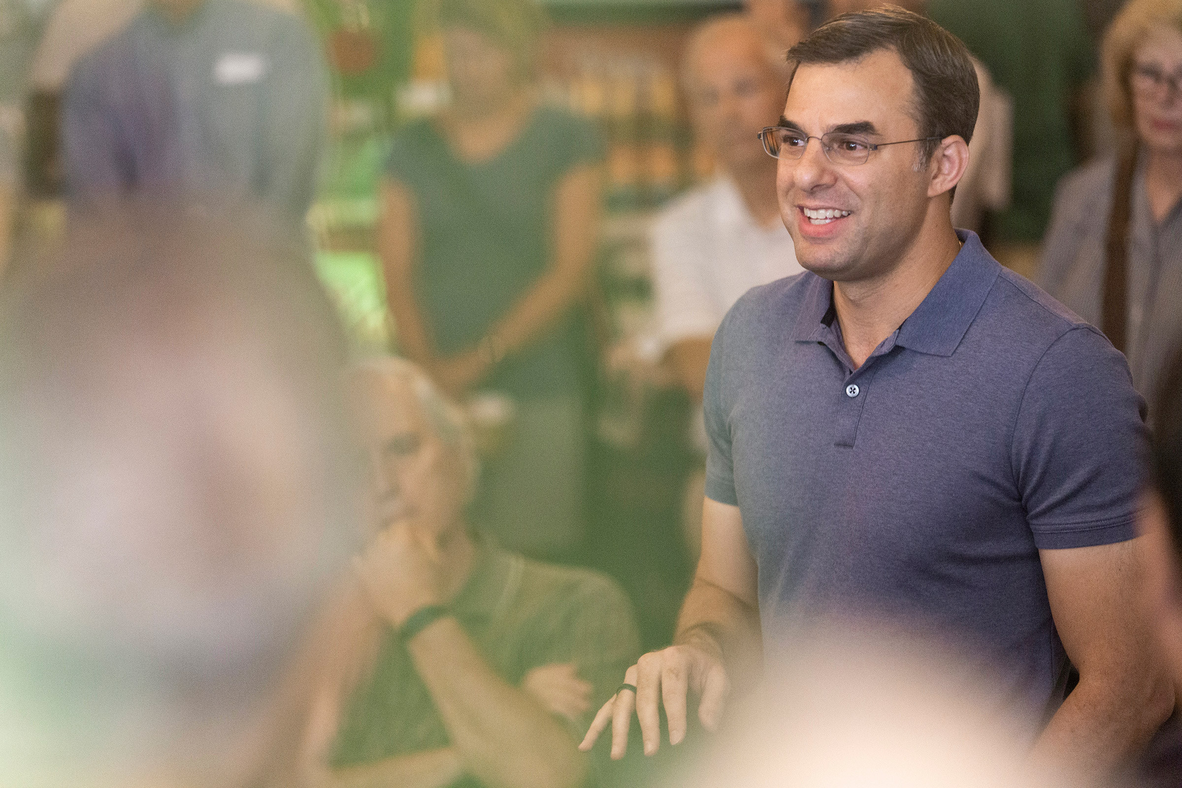 'Of all the years I've been in office, I'm the happiest now.'—Justin Amash,                      on leaving the Republican Party to become an independent