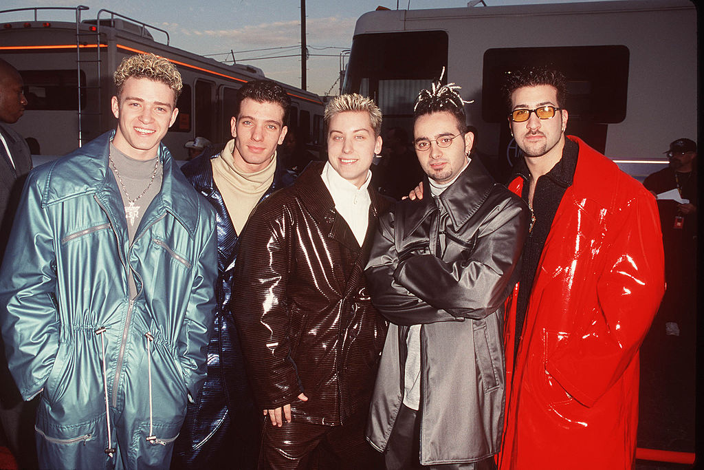 *NSYNC at the American Music Awards on January 11, 1999.