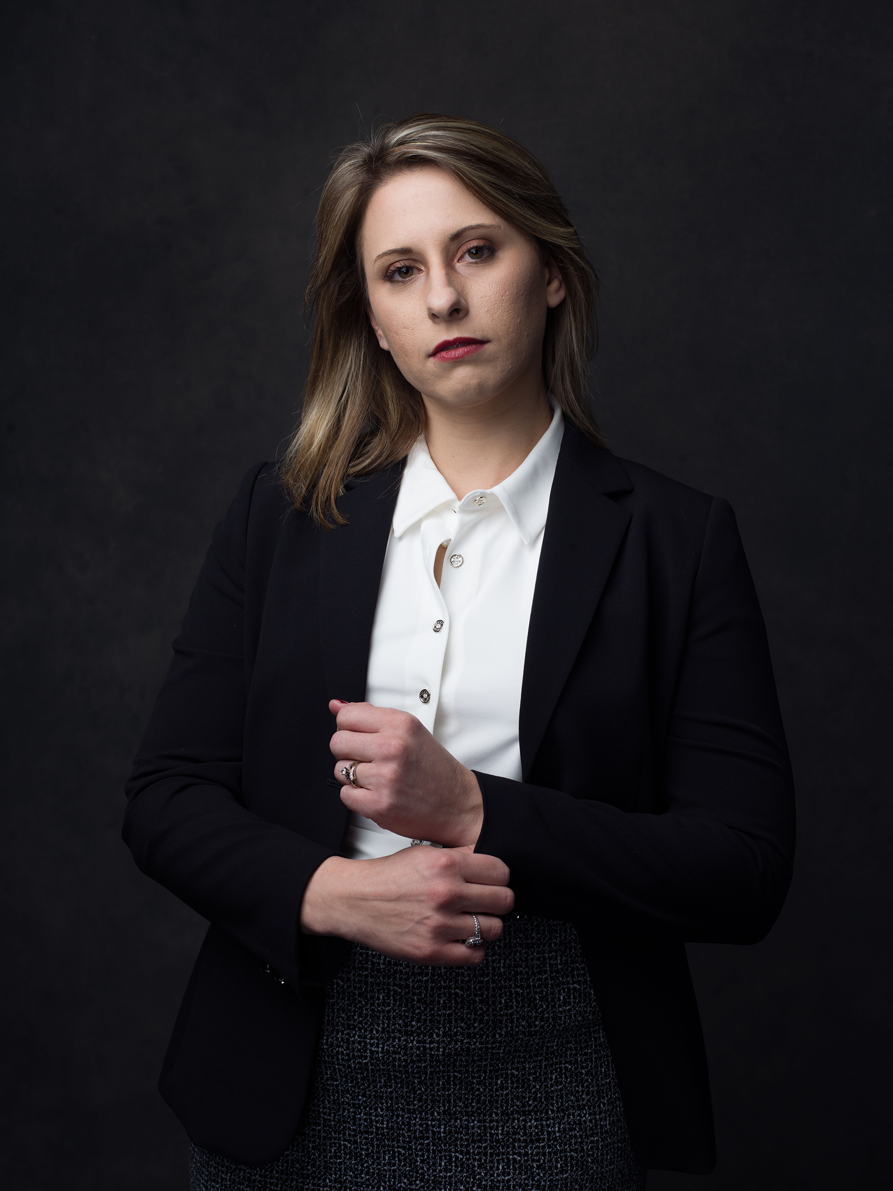 Rep. Katie Hill (D-C​alif.), photographed in Washington D.C., on ​Jan. 2, 2019.