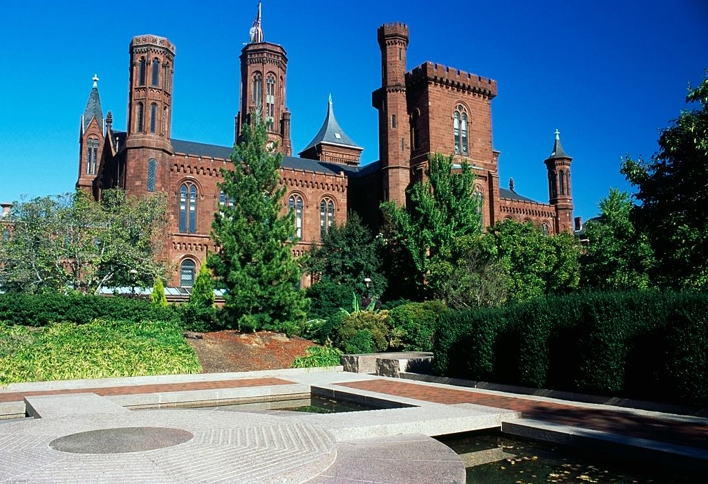 The Smithsonian Institution Building (The Castle), in Washington D.C.