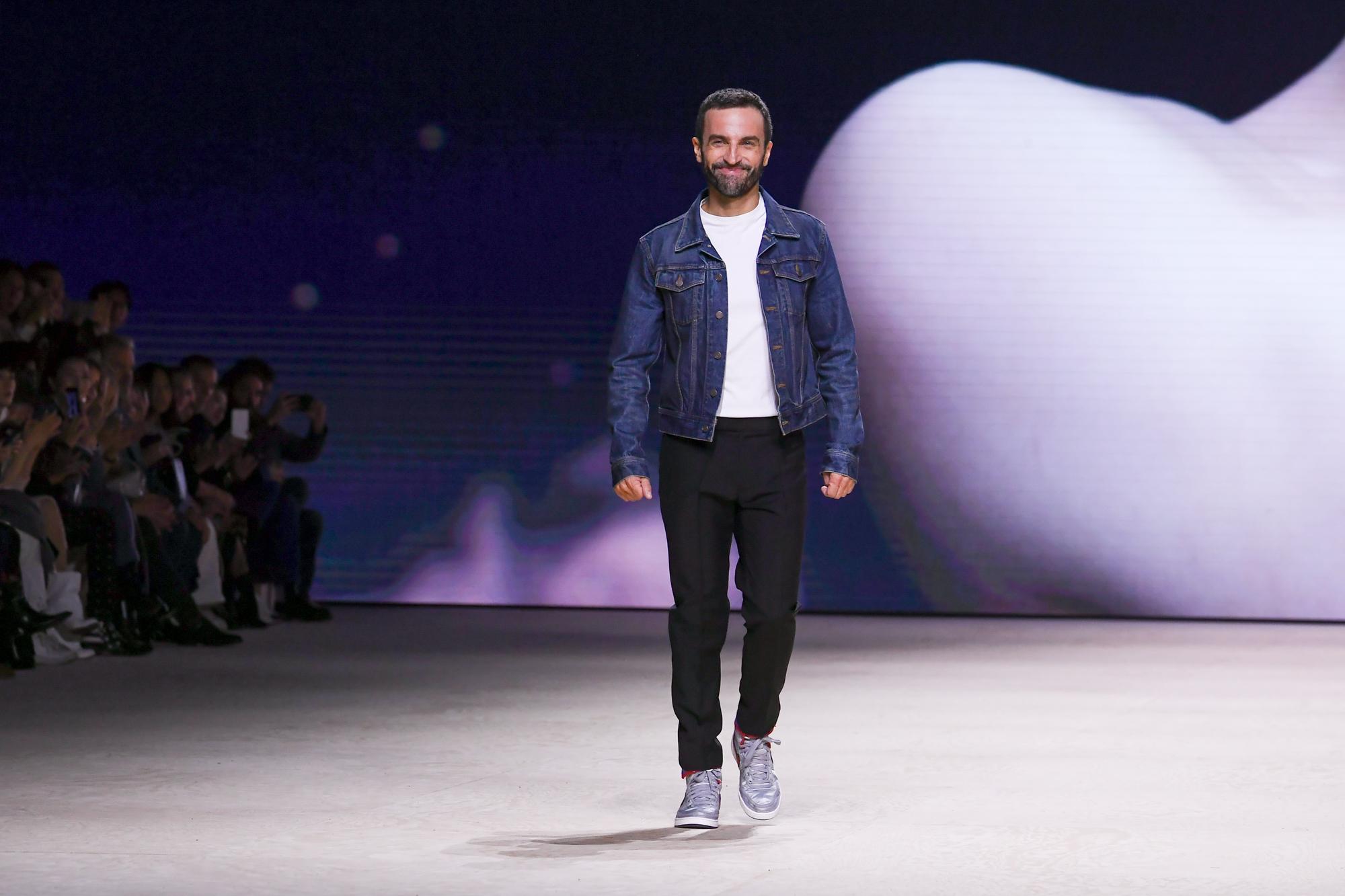 Nicolas Ghesquière walks the runway during the Louis Vuitton Womenswear Spring/Summer 2020 during Paris Fashion Week on Oct. 01, 2019 in Paris, France.