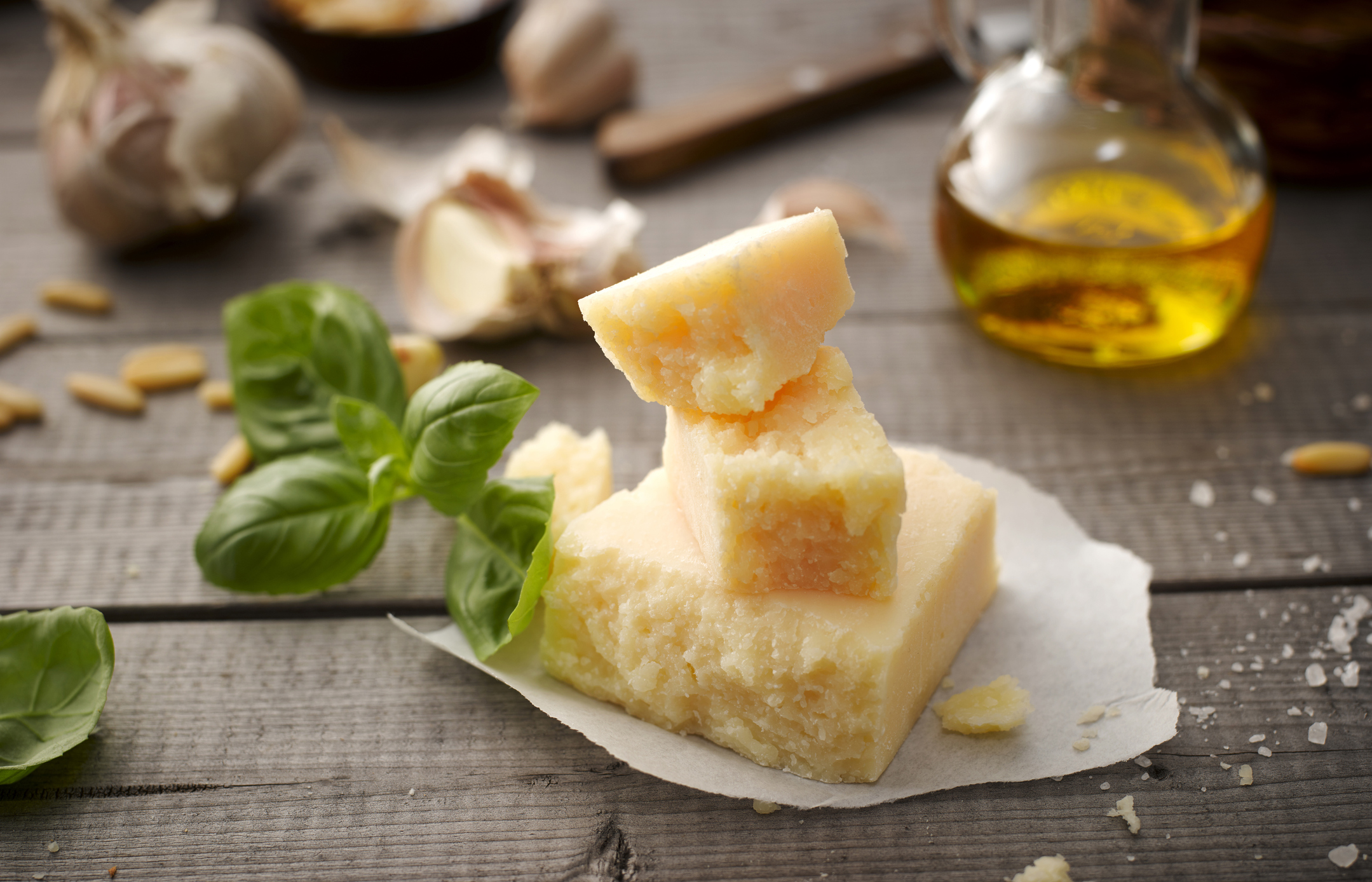 Parmesan cheese is on the list of E.U. products slapped with a 25% tariff on Friday