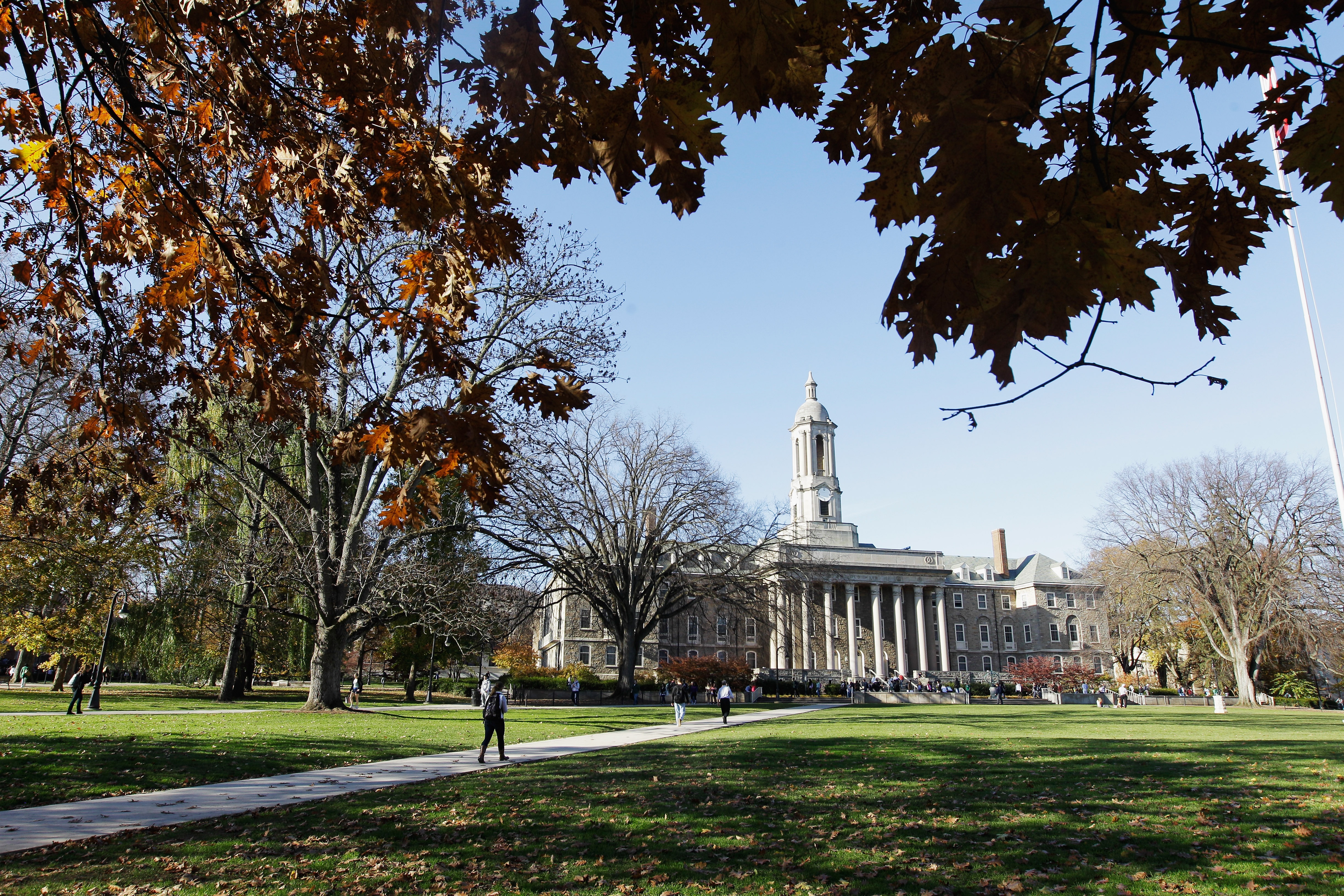 The Penn State University campus pictured on Nov.  8, 2011 in University Park, Pennsylvania.