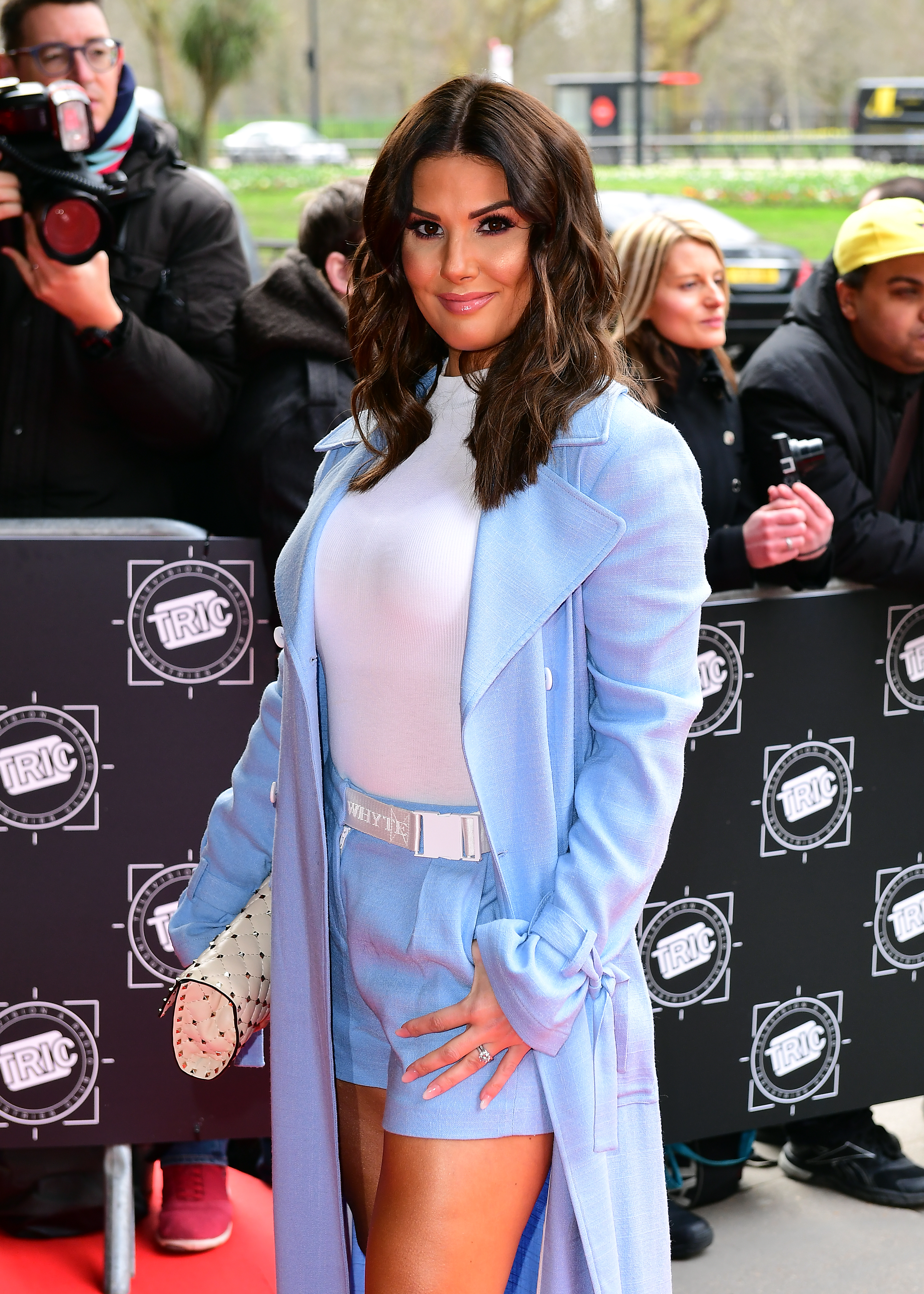 Rebekah Vardy attends the 2018 TRIC Awards at the Grosvenor House Hotel, London.