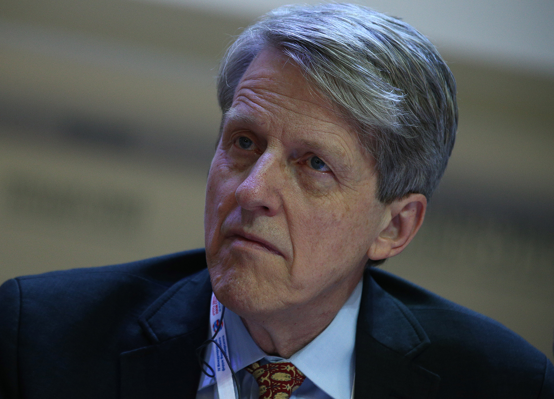 Nobel Prize winner in economics Robert J. Shiller