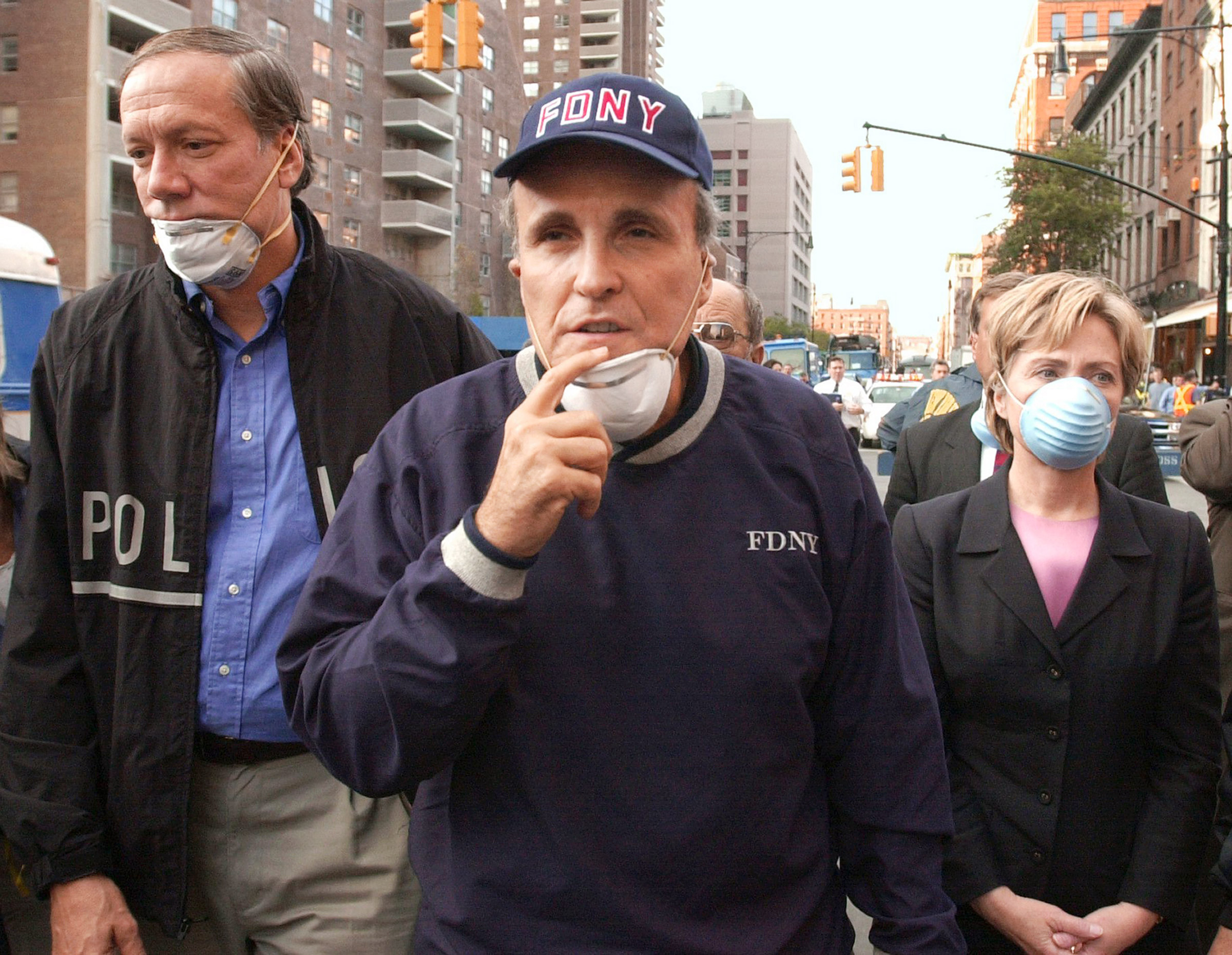 Giuliani became a figure of resilience after the Sept.11 attacks