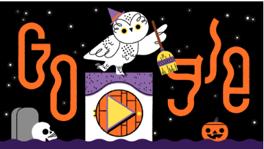 Google celebrates Halloween 2019 with a new doodle.