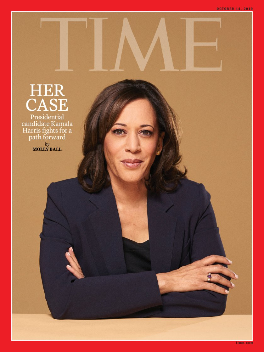 Kamala Harris Is Making Her Case But Can She Stand Out In A Crowded Field Time