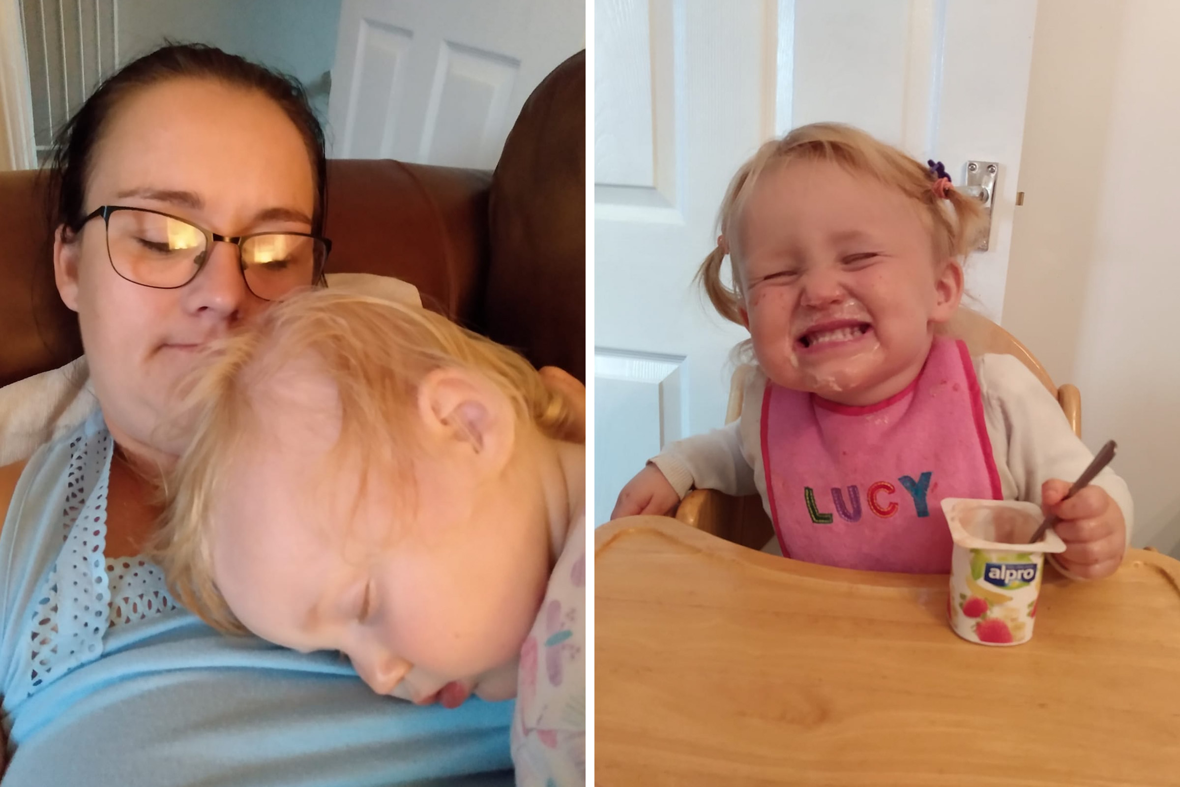 Lindsay Dutton's two year old daughter, Lucy, faced deportation from the U.K.