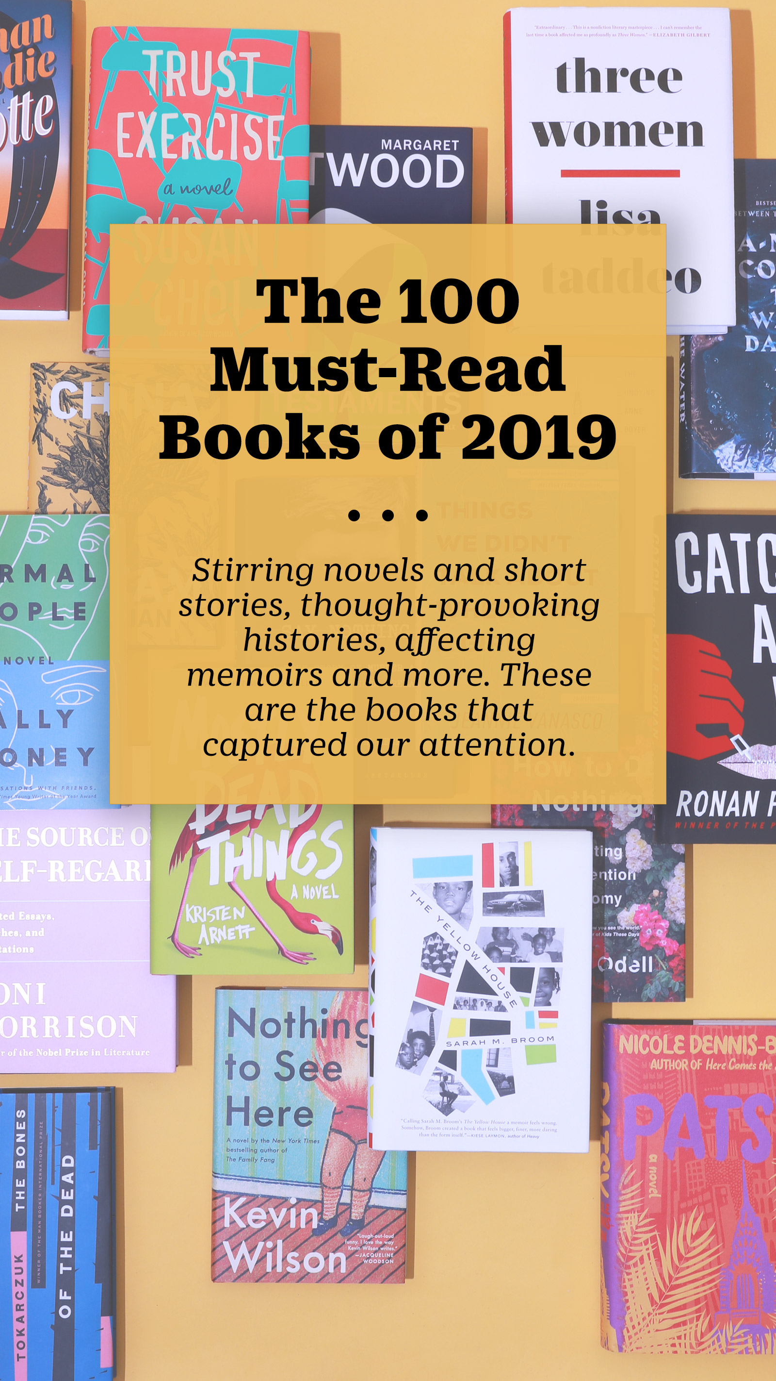 The 100 Must Read Books Of 2019 Time Com