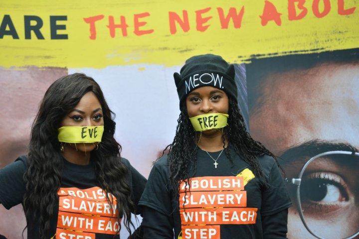 Walk For Freedom, Anti Modern Slavery Protest In London