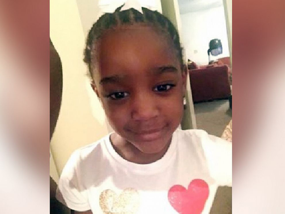 5-year old Taylor Rose Williams, who was reported missing in Jacksonville, Florida on Nov. 6, 2019.