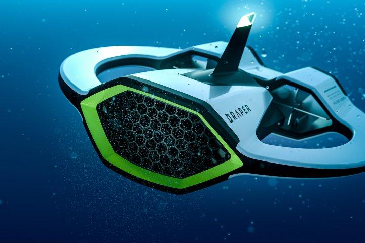 Draper/Sprout Microplastics-Sensing Autonomous Underwater Vehicle