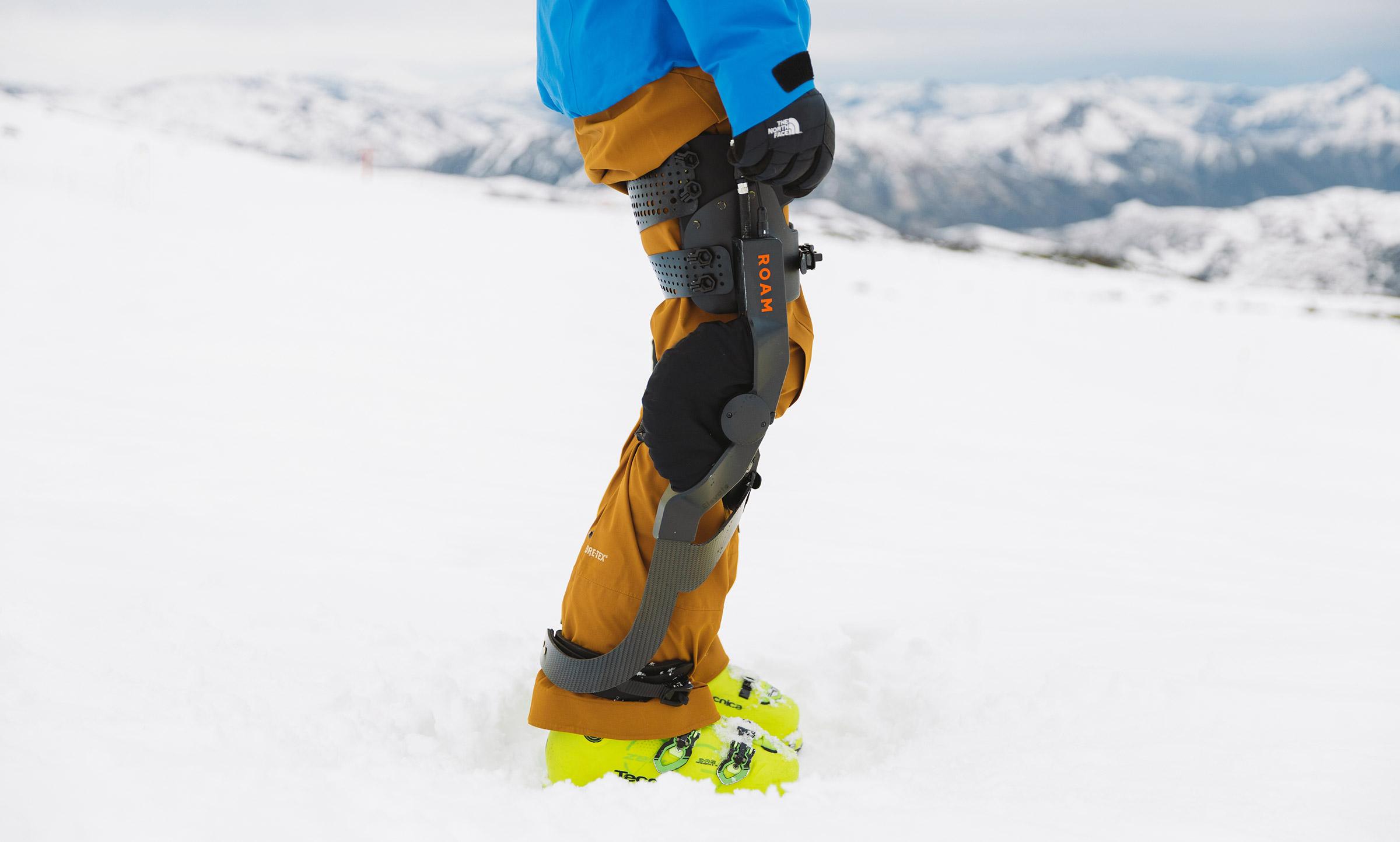 Roam Robotics Elevate Robotic Ski Exoskeleton: Special Mention on Best Inventions 2019 | Time.com