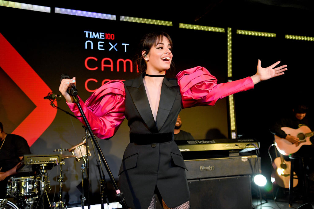 Camila Cabello performs onstage during TIME 100 Next 2019 at Pier 17 on November 14, 2019 in New York City.