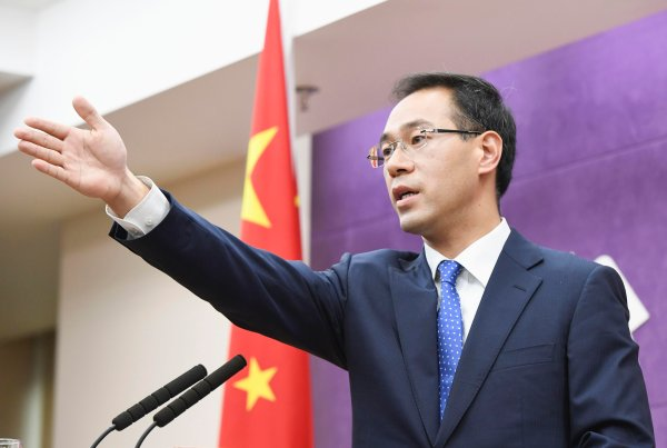 Image result for Gao Feng, spokesman at the Chinese commerce ministry