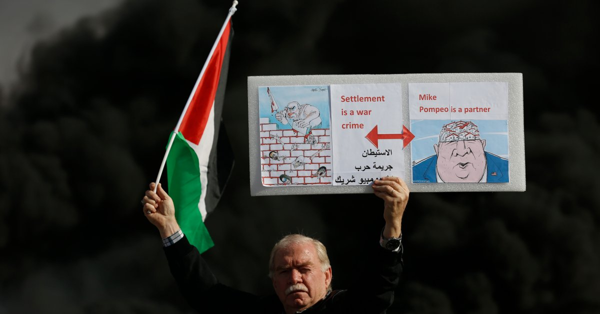 Палестинцы протестуют против решения США об урегулировании в «День ярости» thumbnail