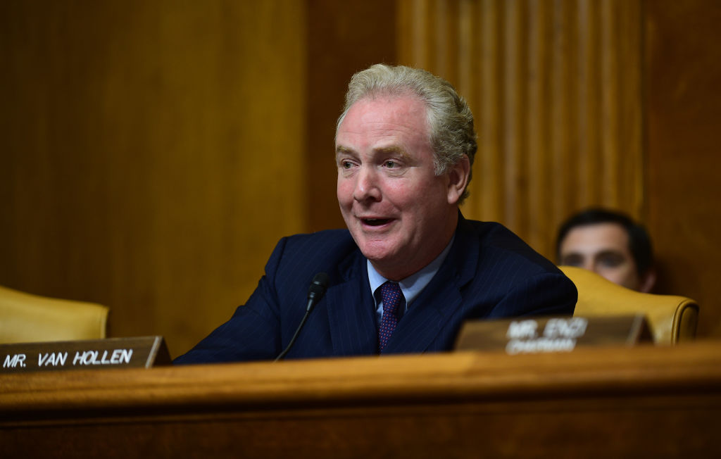 Senator Chris Van Hollen, a Democrat from Maryland, is one of two lawmakers who wrote the  Millionaires Surtax  bill.