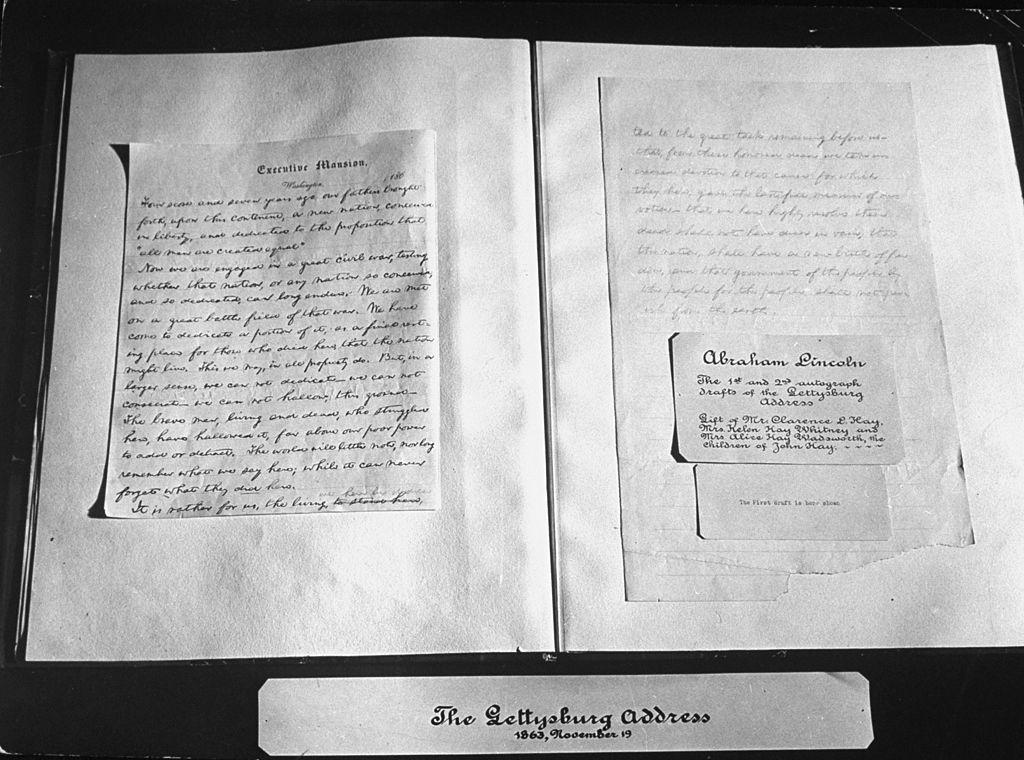 Museum Director Fired After Lending Out Handwritten Copy of Gettysburg Address