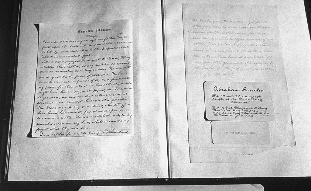 Директор музея уволен после выдачи рукописной копии Геттисбергского адреса thumbnail