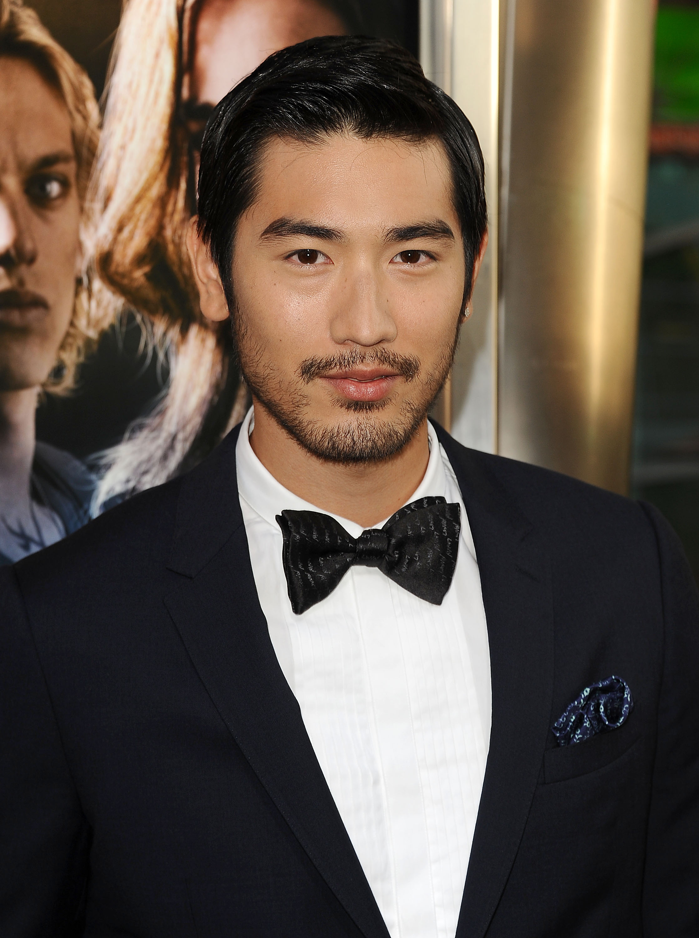 Godfrey Gao attends the premiere of  The Mortal Instruments: City Of Bones  on August 12, 2013 in Hollywood, California.