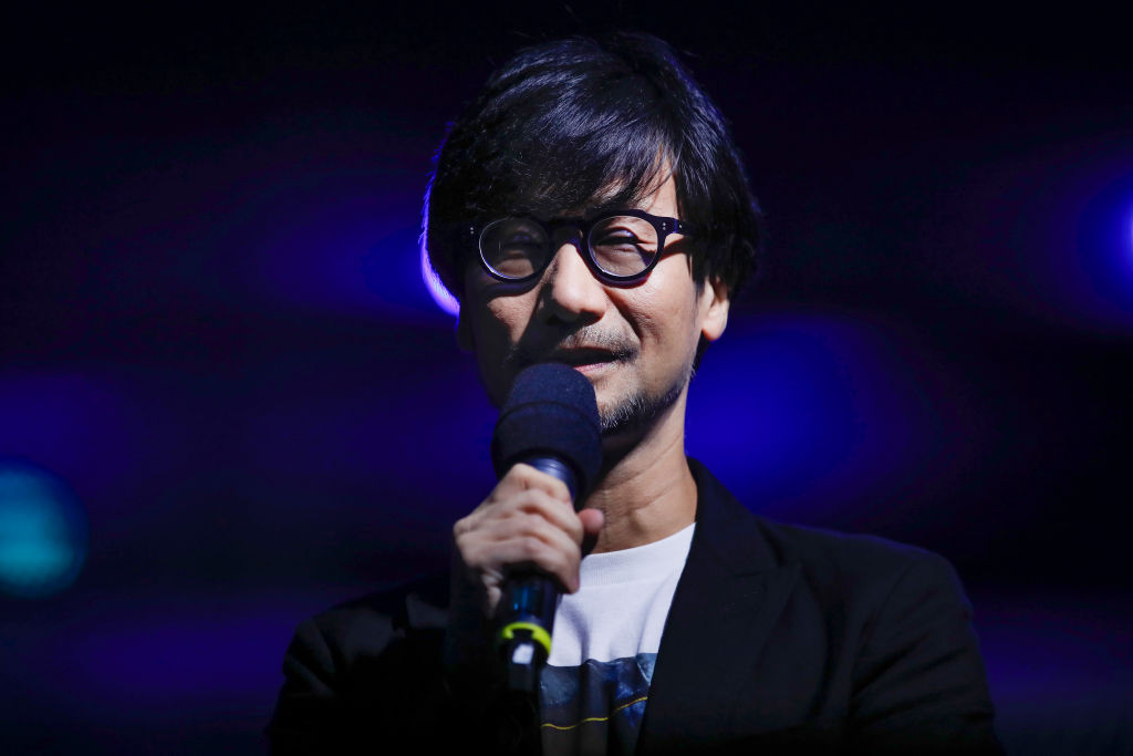 Hideo Kojima during the Gamescom 2019 opening night on August 19, 2019 in Cologne, Germany.