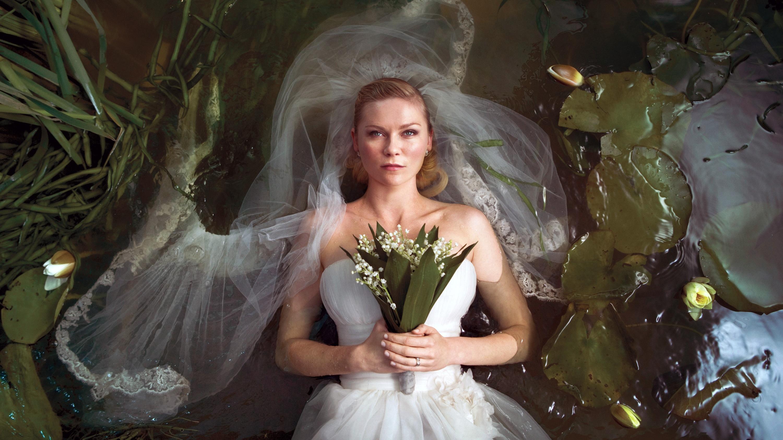 Kirsten Dunst in Melancholia.