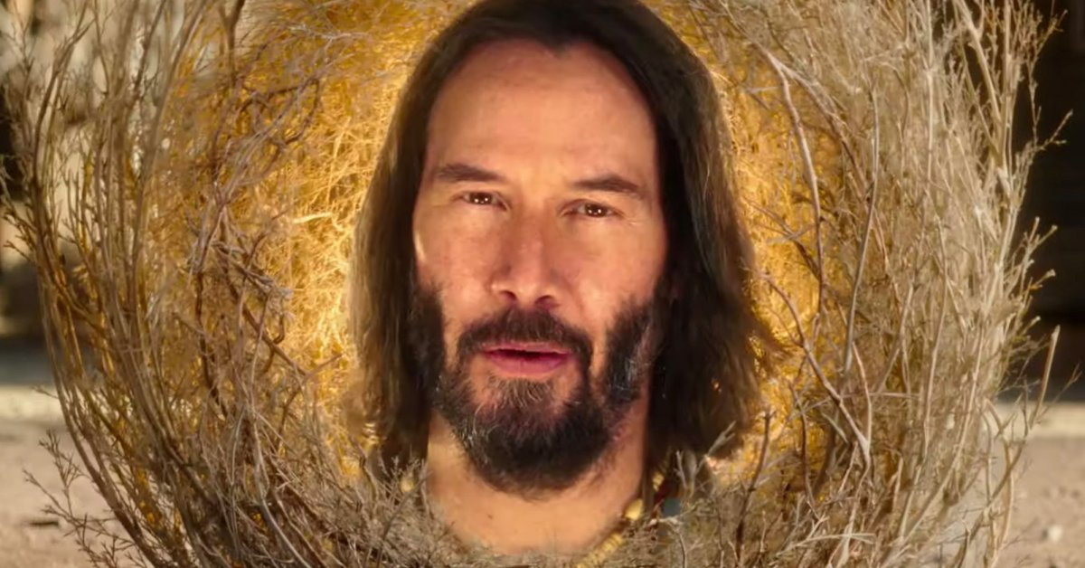 The Internet Has Ascended to a Higher Level of Being on the Wings of the Memes of Keanu Reeves the Tumbleweed Spirit Guide