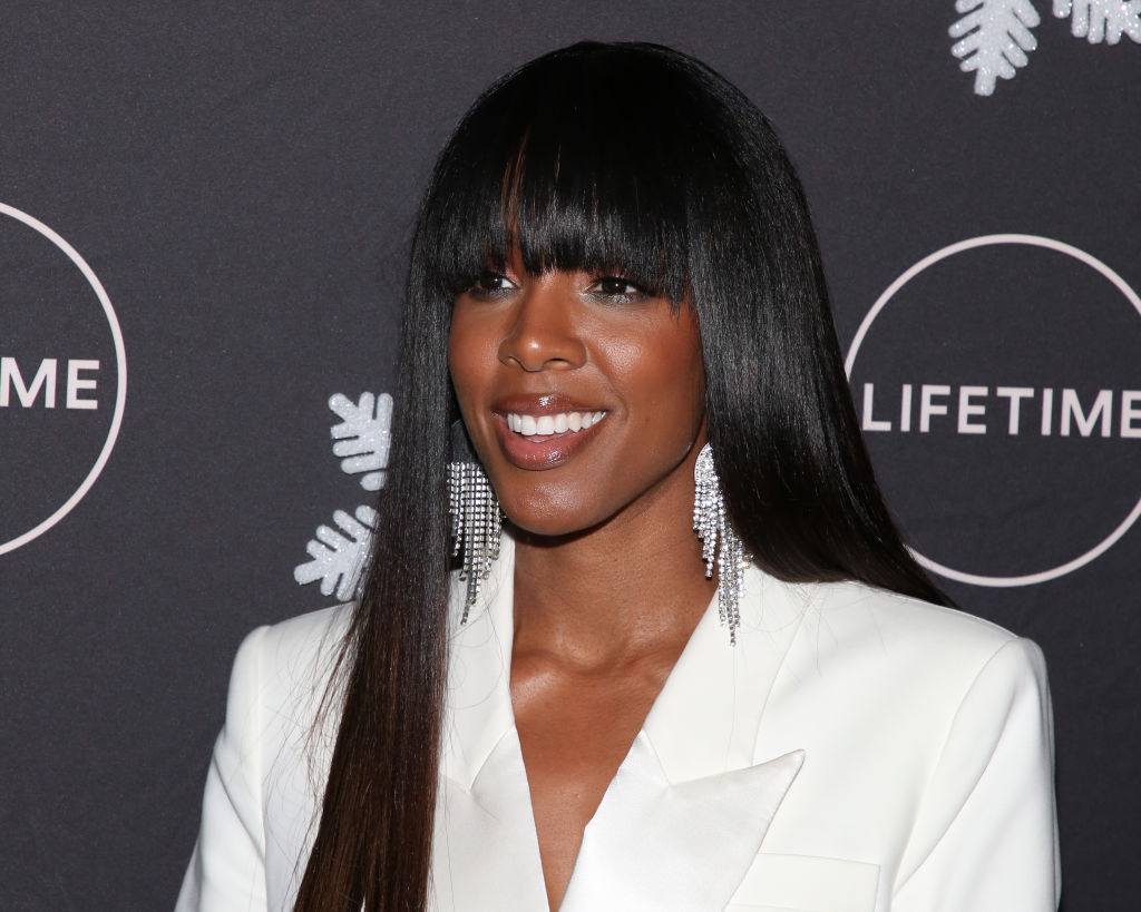 Kelly Rowland attends the  It's A Wonderful Lifetime  Holiday Party at STK Los Angeles on October 22, 2019 in Los Angeles, California.