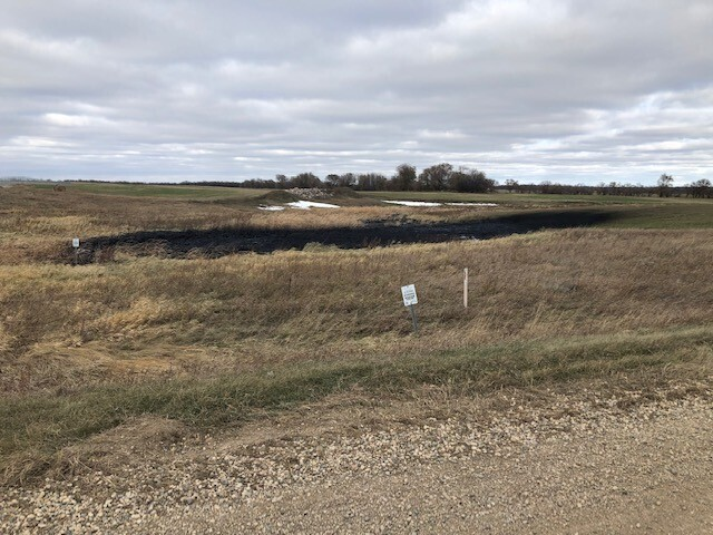 The Keystone pipeline leaked about 383,000 gallons of oil near Edinburg, North Dakota. The leak was discovered on Tuesday, Oct 29.