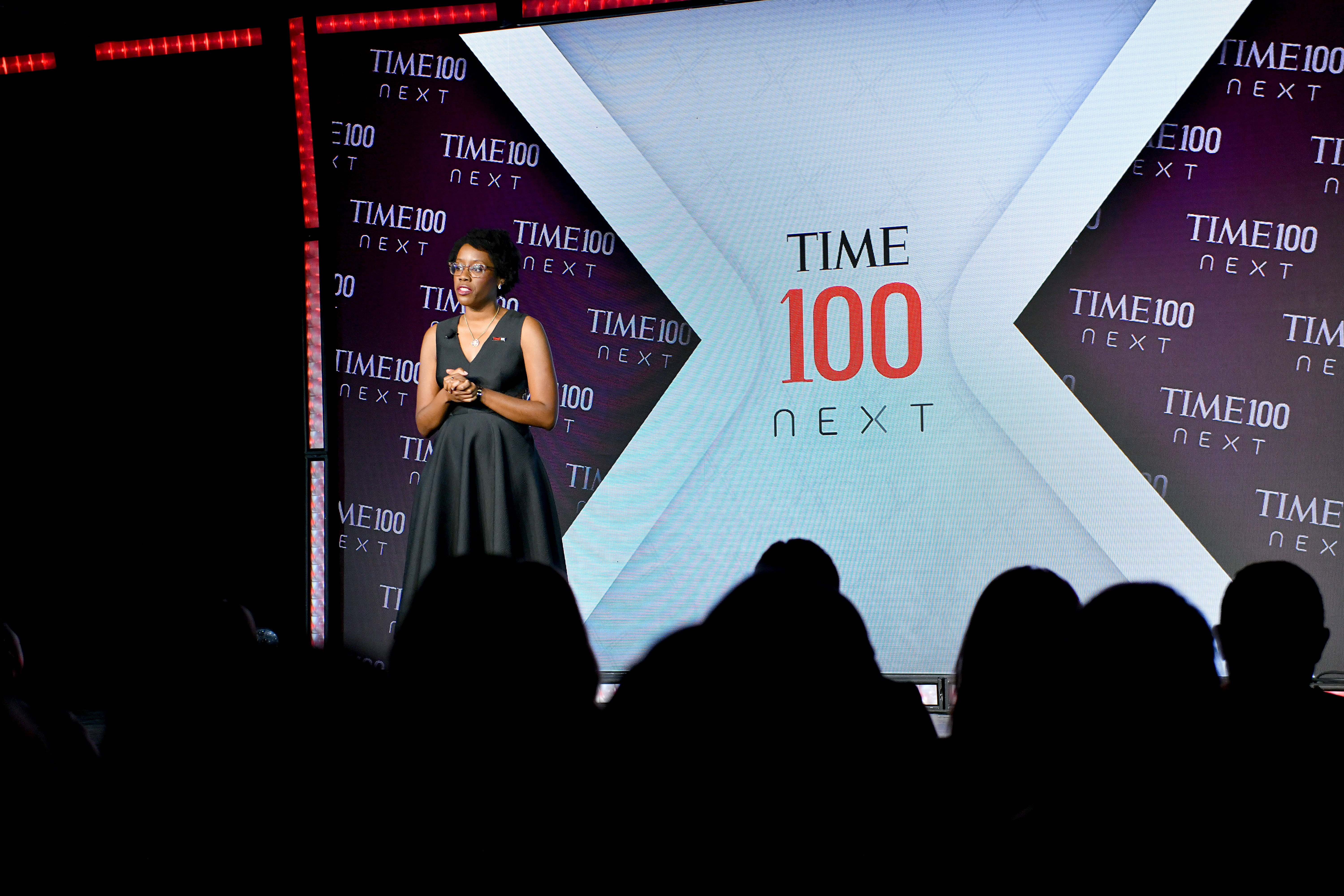 Rep. Lauren Underwood speaks onstage during TIME 100 Next 2019 at Pier 17 on November 14, 2019 in New York City.