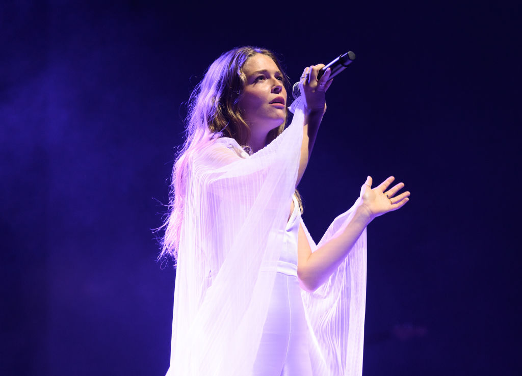 Maggie Rogers performs in concert at Radio City Music Hall on Oct. 01, 2019 in New York City.