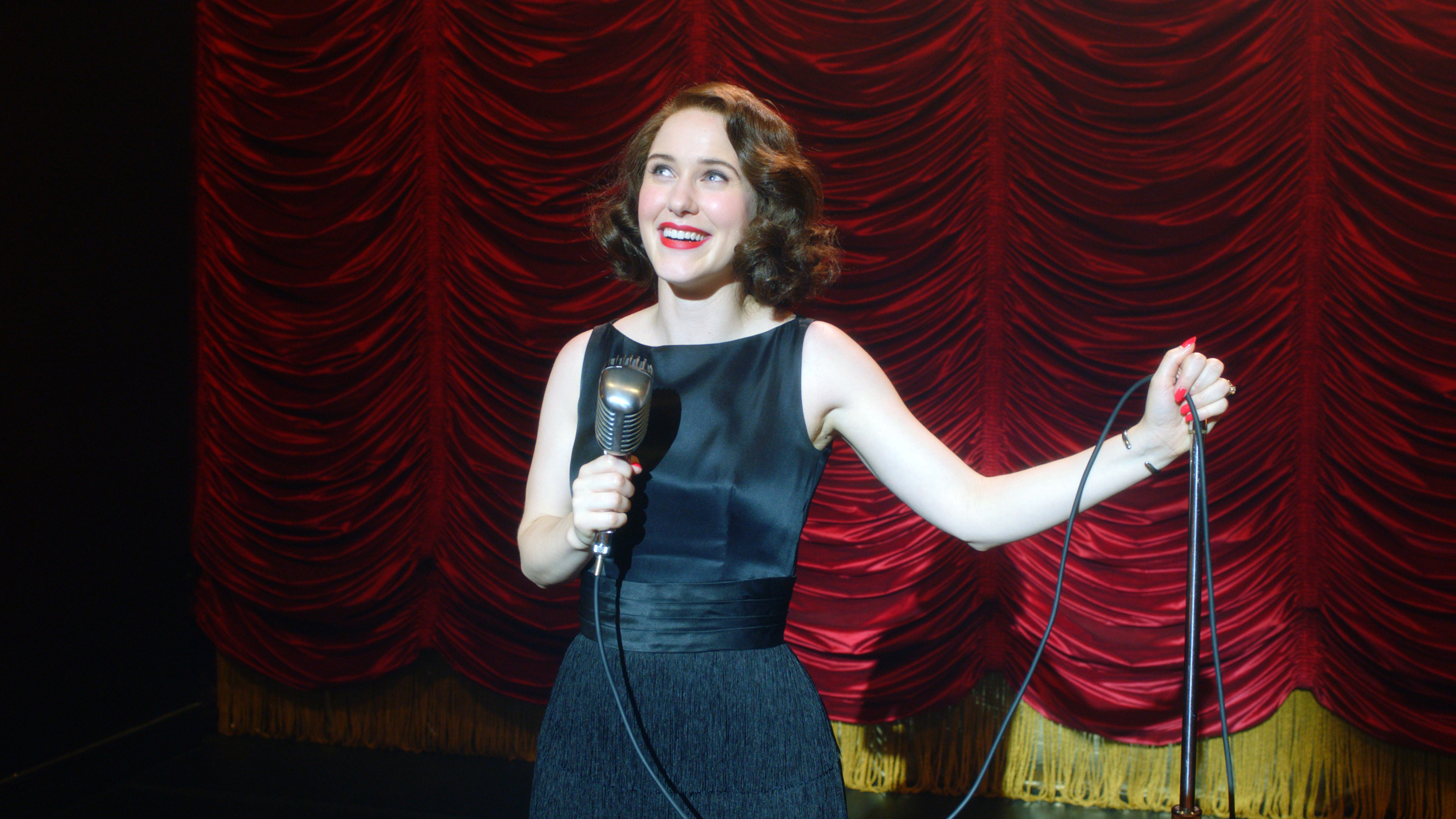 Rachel Brosnahan in 'The Marvelous Mrs. Maisel'