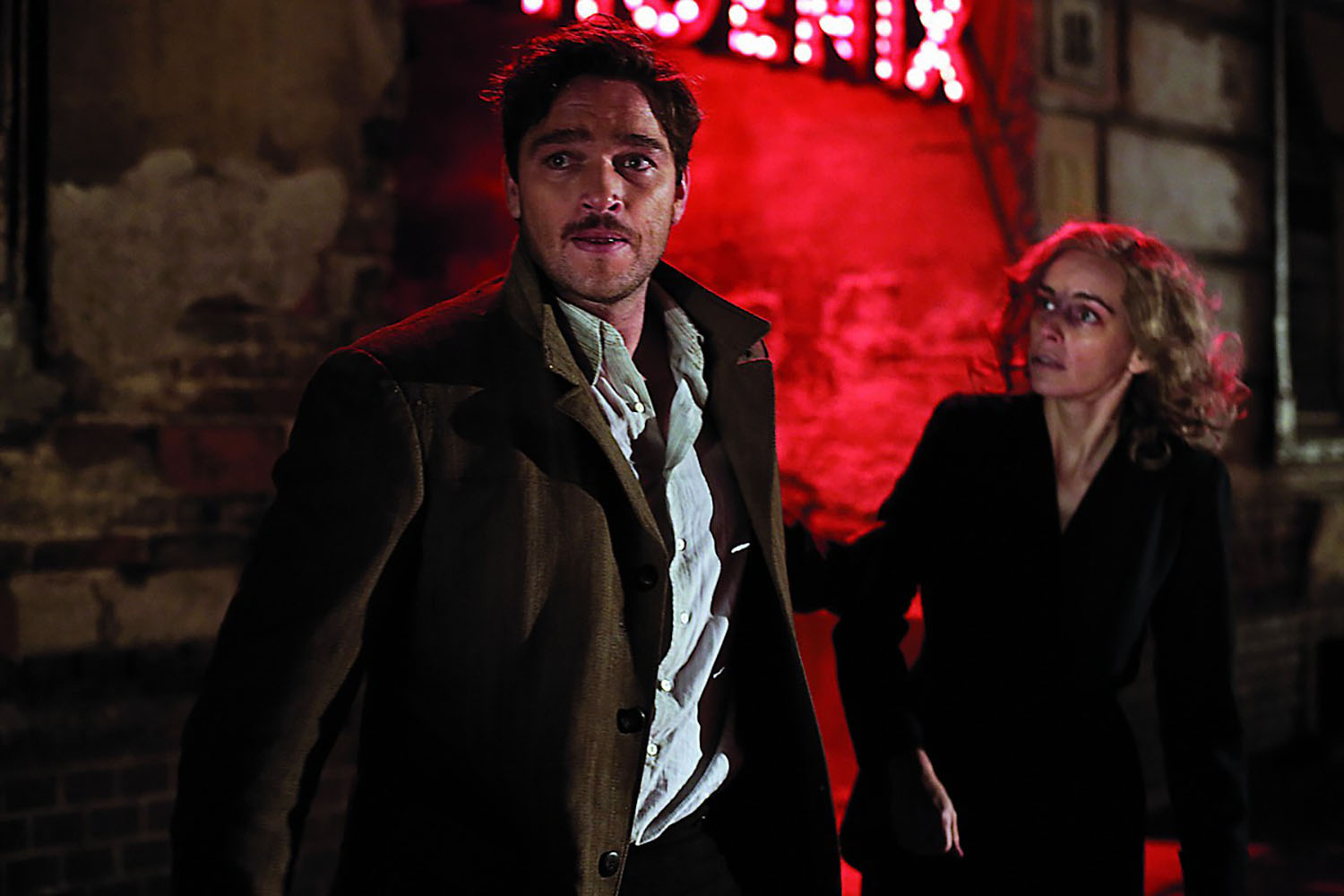 Ronald Zehrfeld and Nina Hoss in Phoenix.