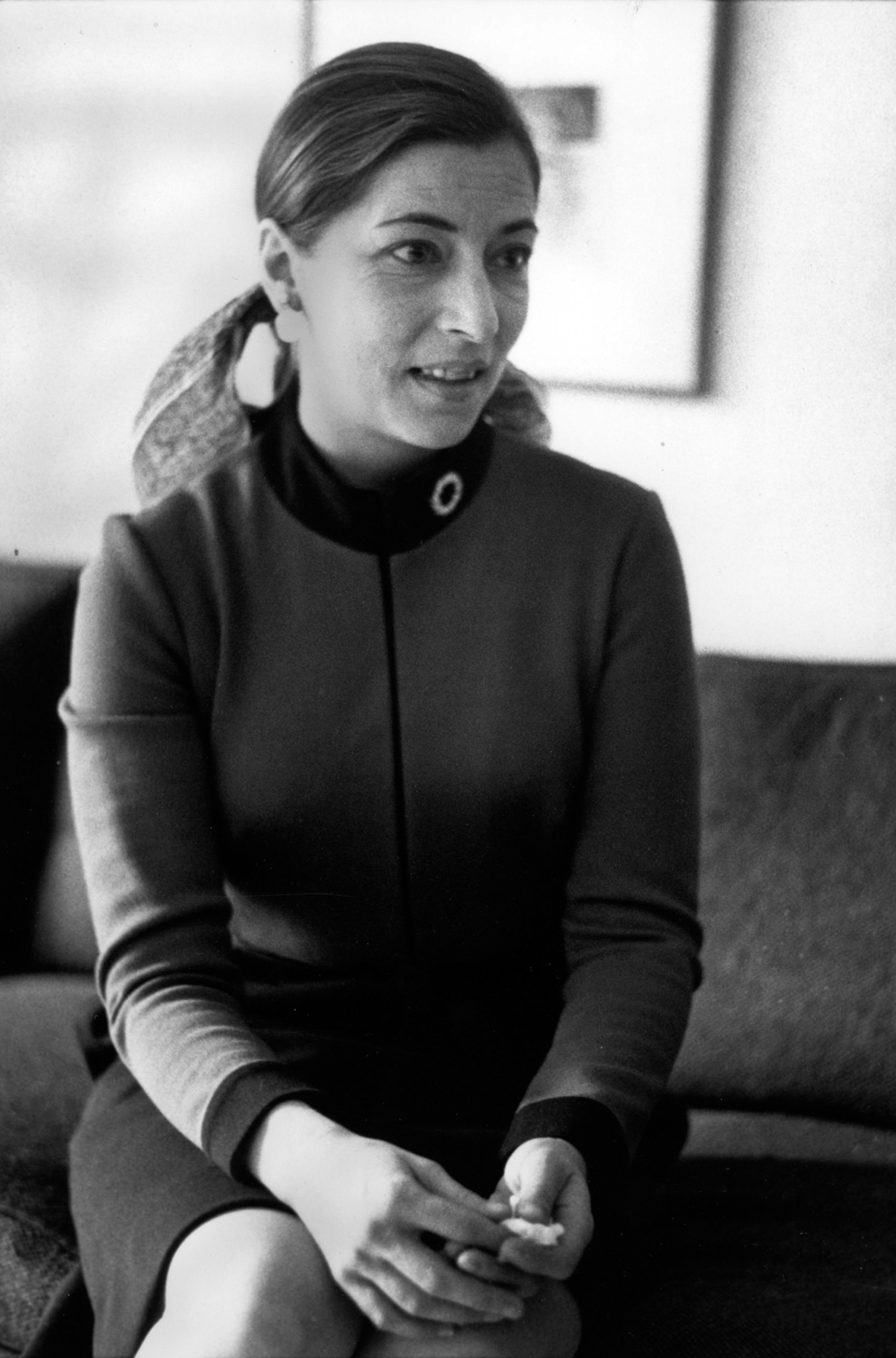 1972 Ruth Bader Ginsburg in New York, when she was named a professor at Columbia Law School.