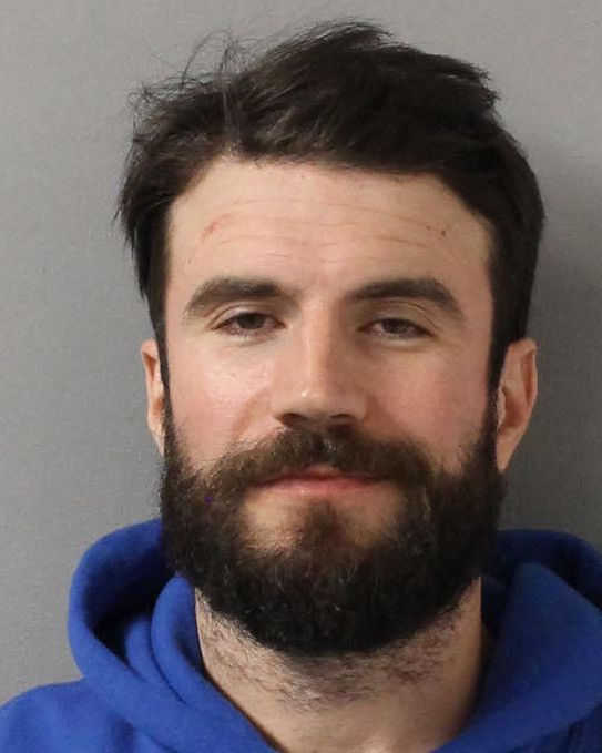 Country singer Sam Hunt poses for a mugshot image after being arrested on DUI charges on Nov. 21, 2019 in Nashville, Tennessee.
