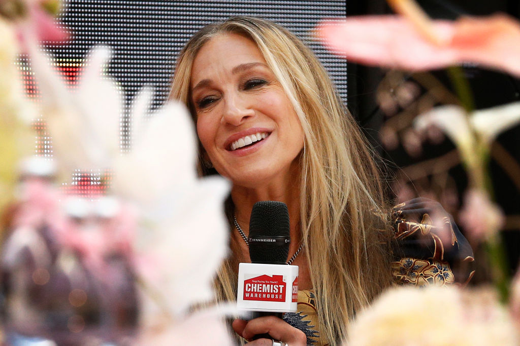 Sarah Jessica Parker attends Highpoint Shopping Centre on October 23, 2019 in Melbourne, Australia. (Photo by Daniel Pockett/Getty Images)